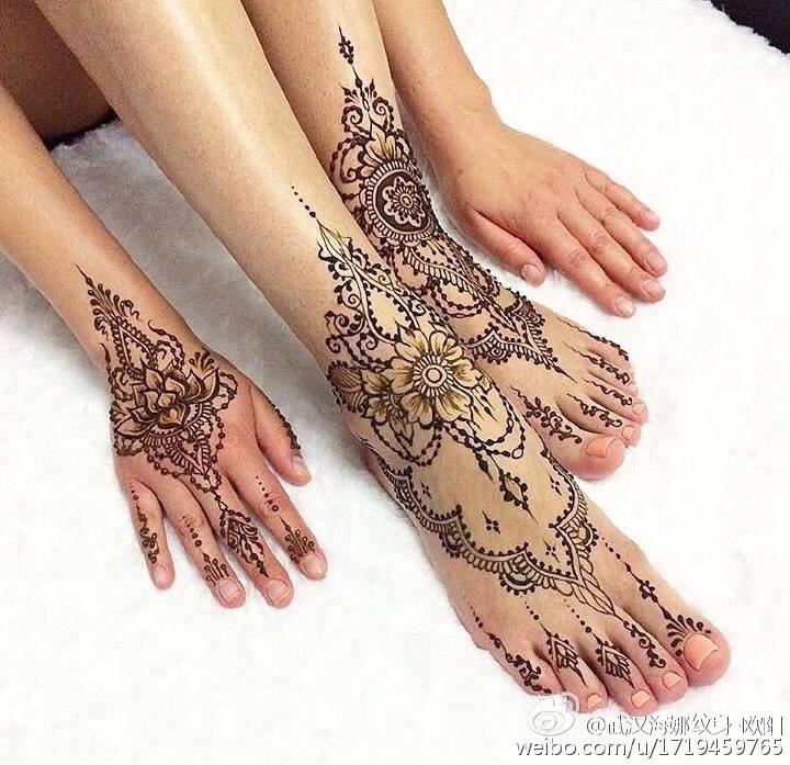 海娜手绘纹身师